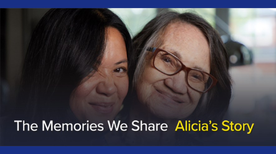 the memories we share - Alicia's story