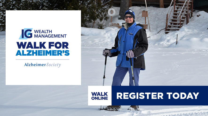 IG Wealth Management Walk for Alzheimer's - Register Today!