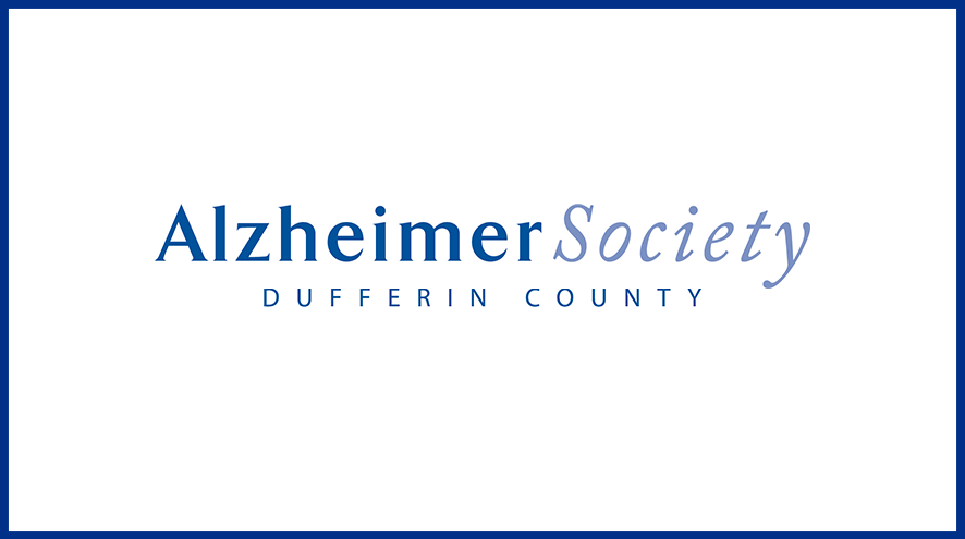 Alzheimer Society of Dufferin County wordmark and identifier.