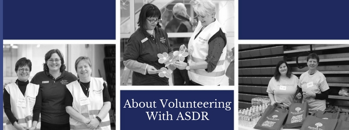 About Volunteering with ASDR