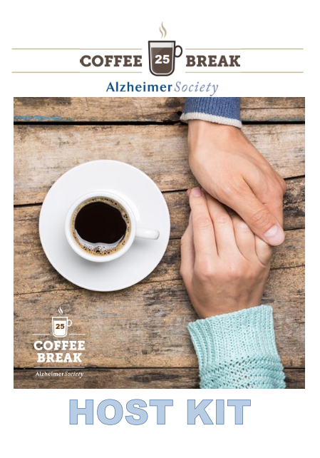 Alzheimer Society Coffee Break Host Kit