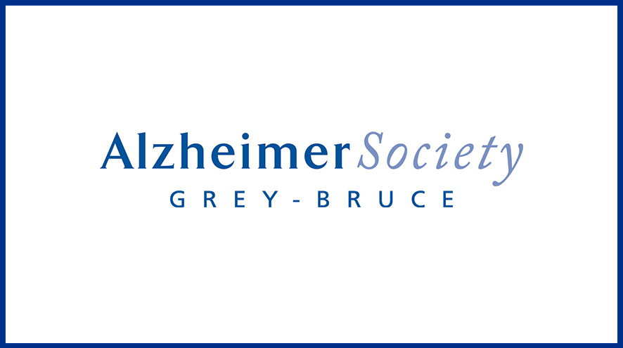 Alzheimer Society of Grey-Bruce wordmark and identifier.