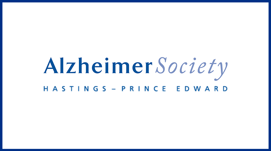 Alzheimer Society of Hastings - Prince Edward wordmark and identifier.