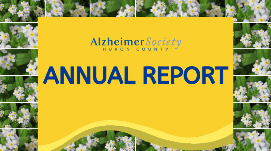 Alzheimer Society of Huron County Annual Report