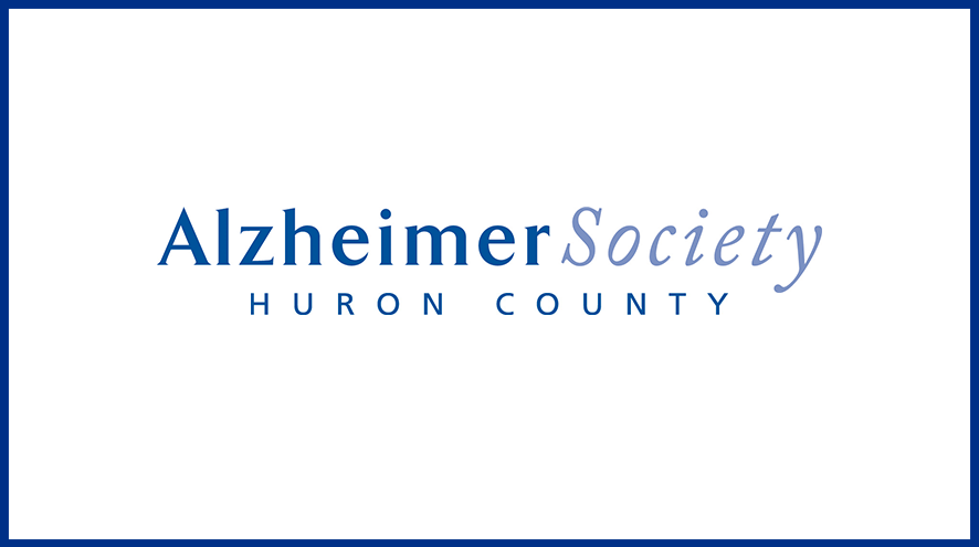 Alzheimer Society of Huron County wordmark and identifier.