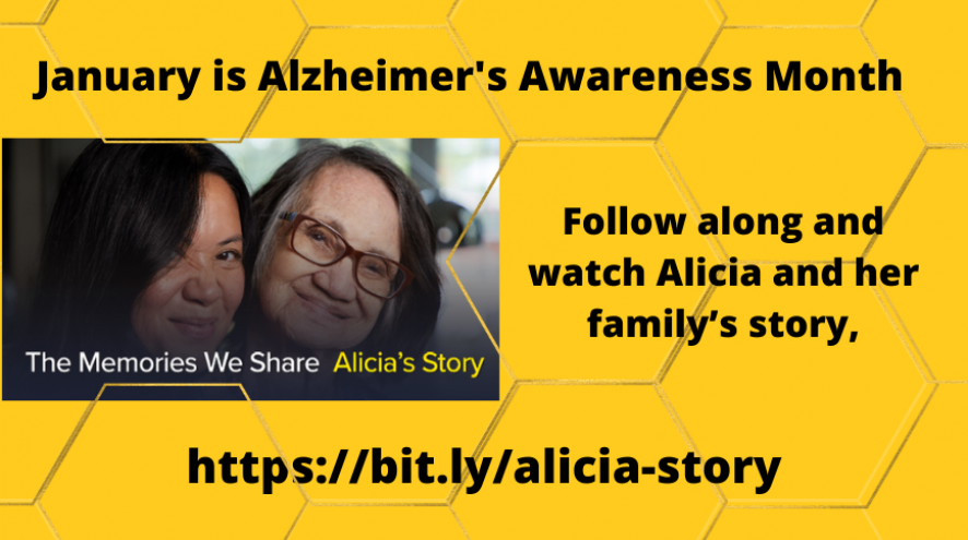 Follow along and watch Alicia and her family's story