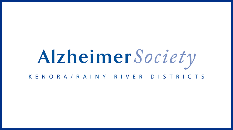 Alzheimer Society of Kenora/Rainy River Districts wordmark and identifier.