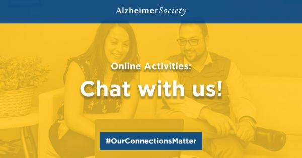 Online Activities: Chat with us! #OurConnectionsMatter