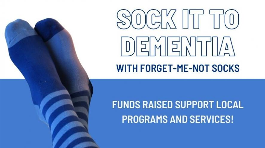 Sock it to dementia with picture of socks