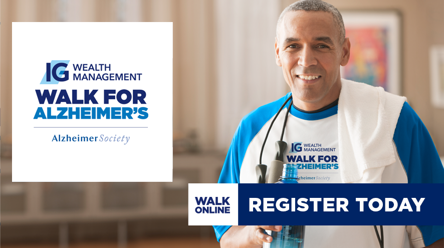 IG Wealth Managment Walk for Alzheimer's