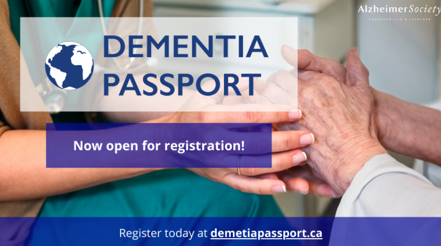 Dementia Passport now open for registration