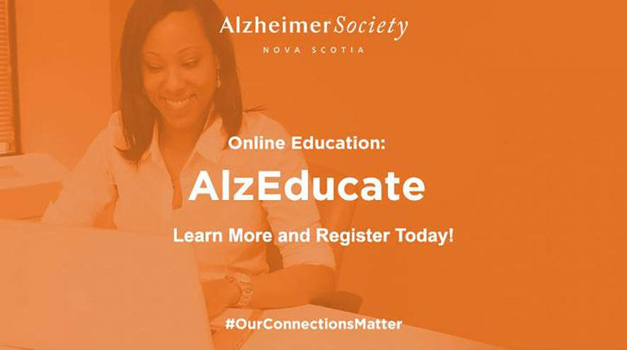 Online Education: AlzEducate. Learn More and Register Today! #OurConnectionsMatter
