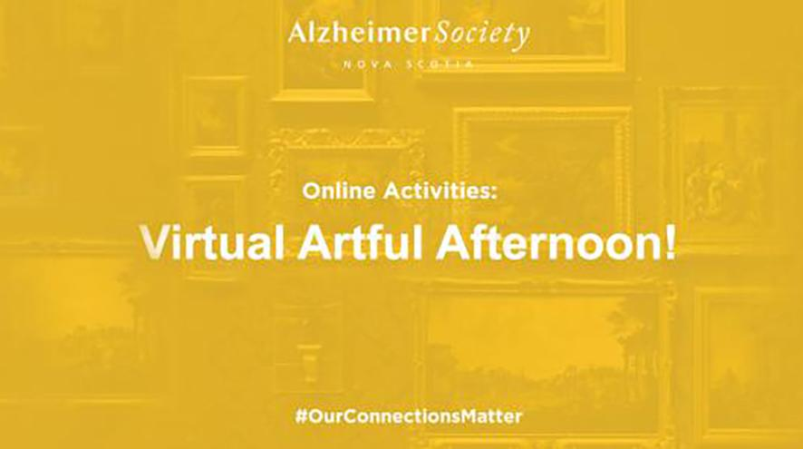 Online Activities: Virtual Artful Afternoon!  #OurConnectionsMatter