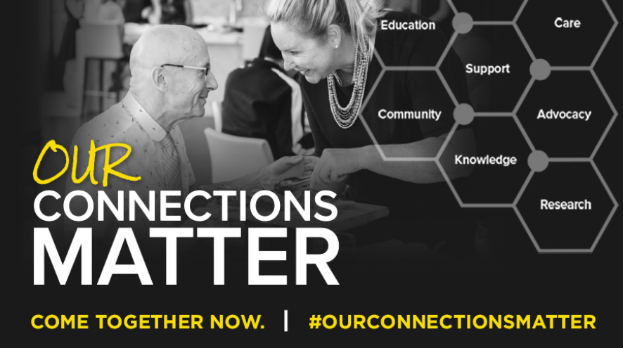 Our Connectinos Matter. Come Together Now. #OurConnectionsMatter