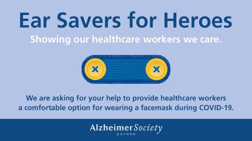 Ear Savers for Heroes: Showing our healthcare works we care.