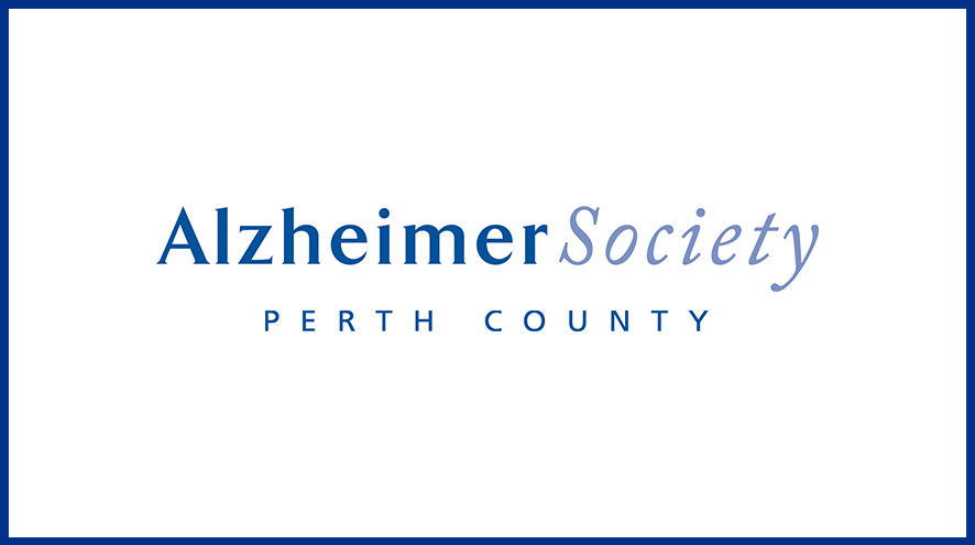 Alzheimer Society of Perth County wordmark and identifier.