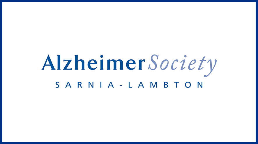 Alzheimer Society of Sarnia-Lambton wordmark and identifier.