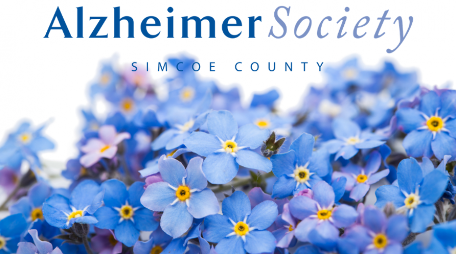 Alzheimer Society of Simcoe County Wordmark and Identifier