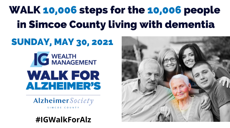 IG Wealth Management Walk for Alzheimers