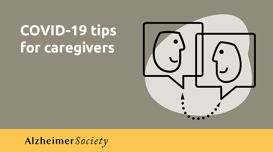 COVID-19 tips for caregivers.
