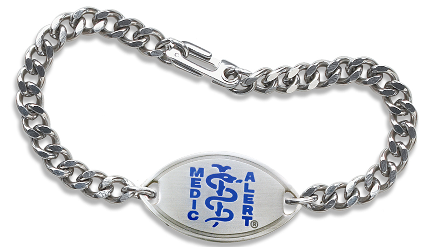MedicAlert® Safely Home® bracelet