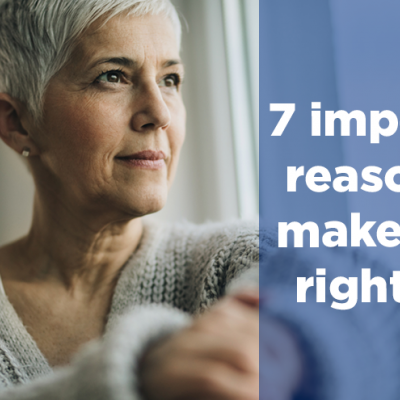 7 important reasons to make a Will right now