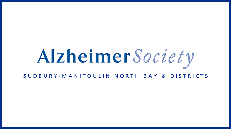 Alzheimer Society of Sudbury-Manitoulin North Bay & Districts wordmark and identifier.