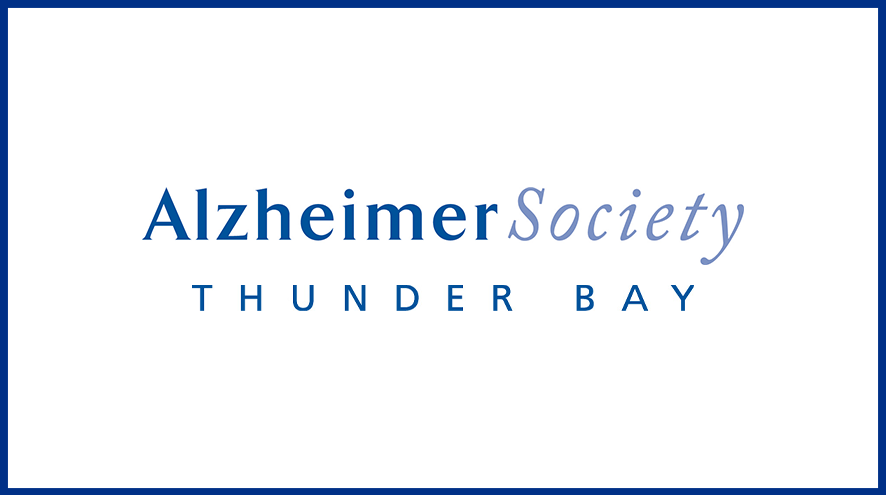Alzheimer Society of Thunder Bay wordmark and identifier.