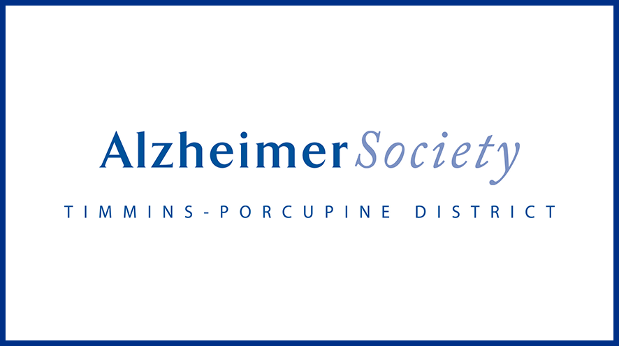 Alzheimer Society of Timmins-Porcupine District wordmark and identifier.