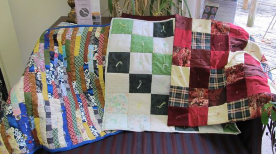 An image of quilts.