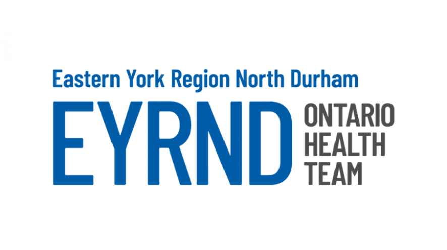 Logo for the Eastern York Region North Durham Ontario Health Team
